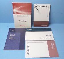 09 2009 toyota camry owners manual ebay rh ebay com 2009 toyota camry owners manual 2009 camry service manual pdf