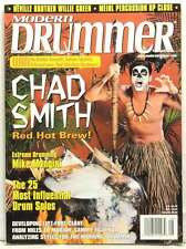 MODERN DRUMMER MAGAZINE CHAD SMITH RED HOT CHILI PEPPERS MIKE MANGINI VERY