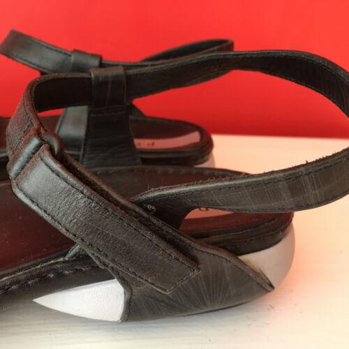cuero Zapatos negro estilo Privo 7 gris talla de Sandalias deportivo Clarks en y wRY4Uxvq