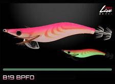 Yamashita EGI OH Q Warm Jacket LIVE Squid Jig #3.0 Basic (Glow Body) - B19/ BPFO