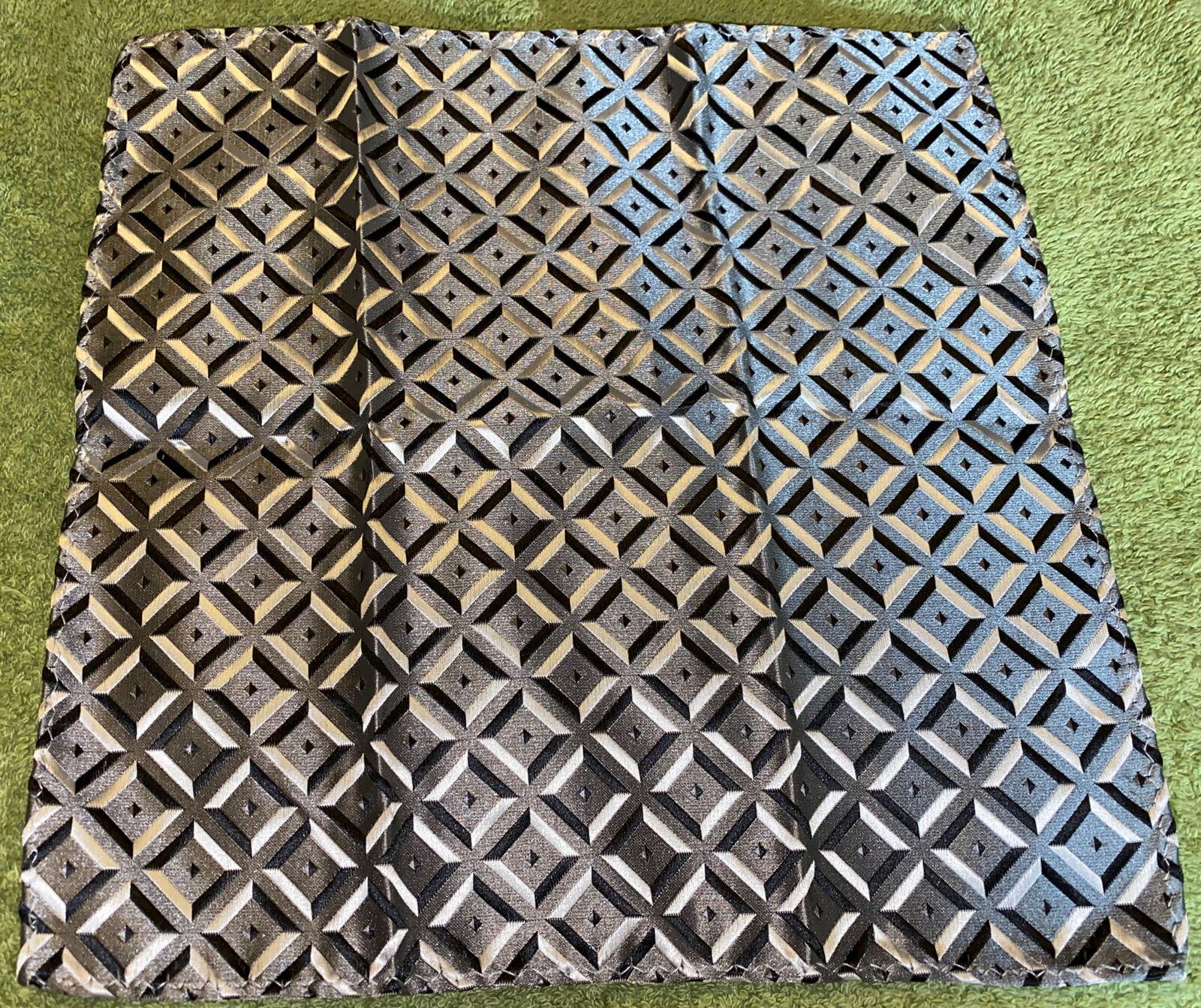 100% Polyester Pocket Square - Geometric Pattern