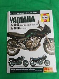 Alerte Haynes Service & Repair Manual-yamaha Xj 600 S Diversion-secaii 92-99-xj 600n Prix Fou