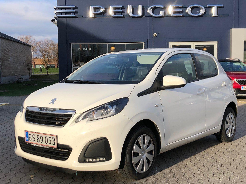 Peugeot 108 1,0 e-VTi 69 Active 5d - 79.900 kr.