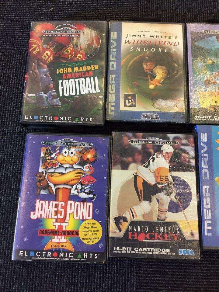 Diverse spil fra 99kr, Sega