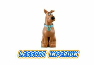 LEGO-Minifigure-Scooby-Doo-sitting-Scooby-Doo-Dimensions-RARE-FREE-POST