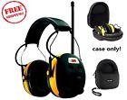 Caseling Hard Case 3M Tekk Work Tunes Hearing Protector Earmuff Safe & Secure