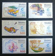 MADERA-PORTUGAL STAMPS MNH - Tourism, 1980, clean