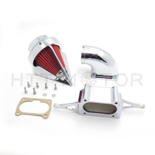 Chrome Diamond Air Intake Cleaner For 2002-2010 Yamaha Roadstar Midnight Warrior