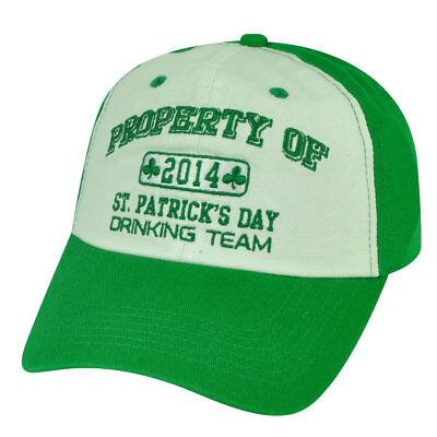 American Crown Saint Patrick's Day Drinking Team Ireland Grün Mütze Sport Fanartikel