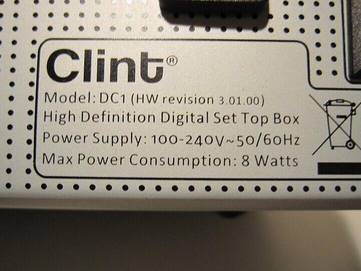 Digital modtager (DVB C), Clint, DC1