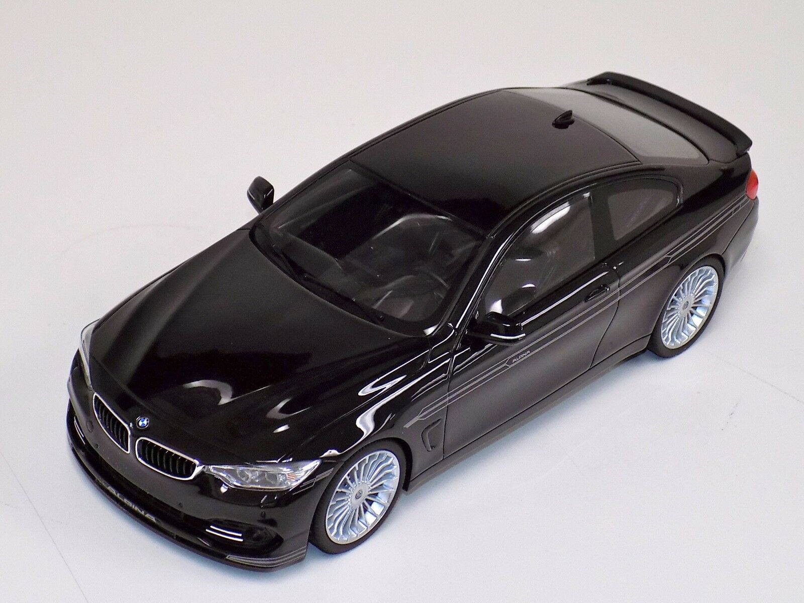 1 18 GT Spirit street BMW ALPINA B4 Biturbo en Noir ZM051
