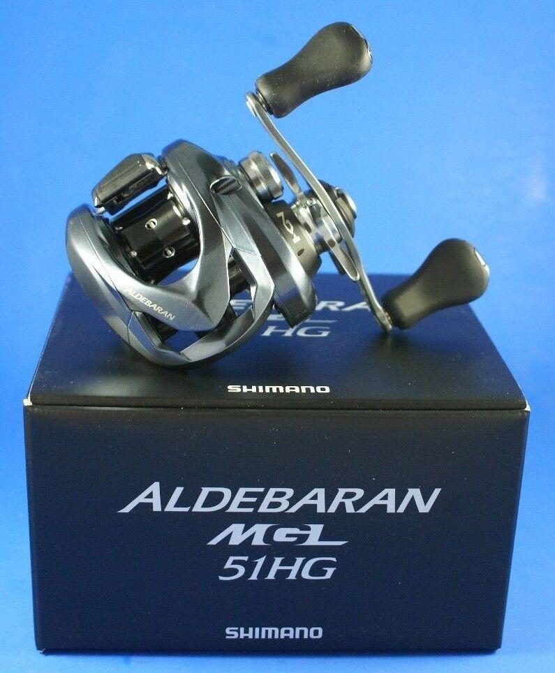Shimano Aldebaran MGL 51 HG // ALDMGL51HG // Baitcast Reel (Left Hand)