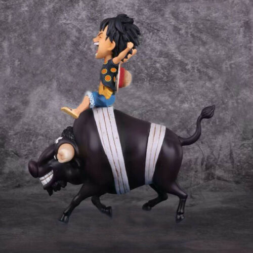 New in Box One Piece Bull Luffy Monkey·D·Luffy Action Figures PVC Collection Toy