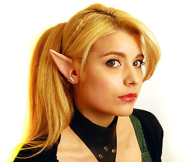Anime Manga Elf Ears Costume - Latex Painted Light