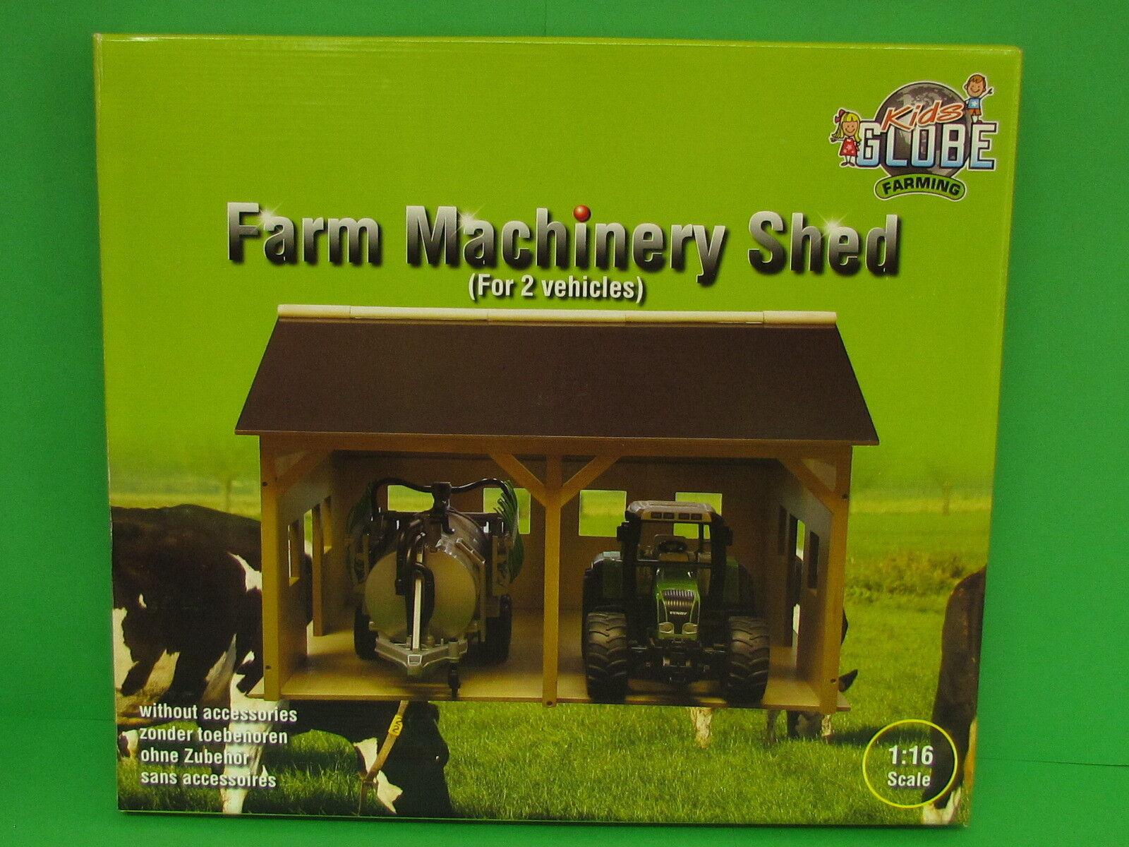 1 16 Kids Globe 610338 Bauernhof Schuppen aus Holz für Bruder Blitzversand DHL  | Ausgezeichnetes Handwerk