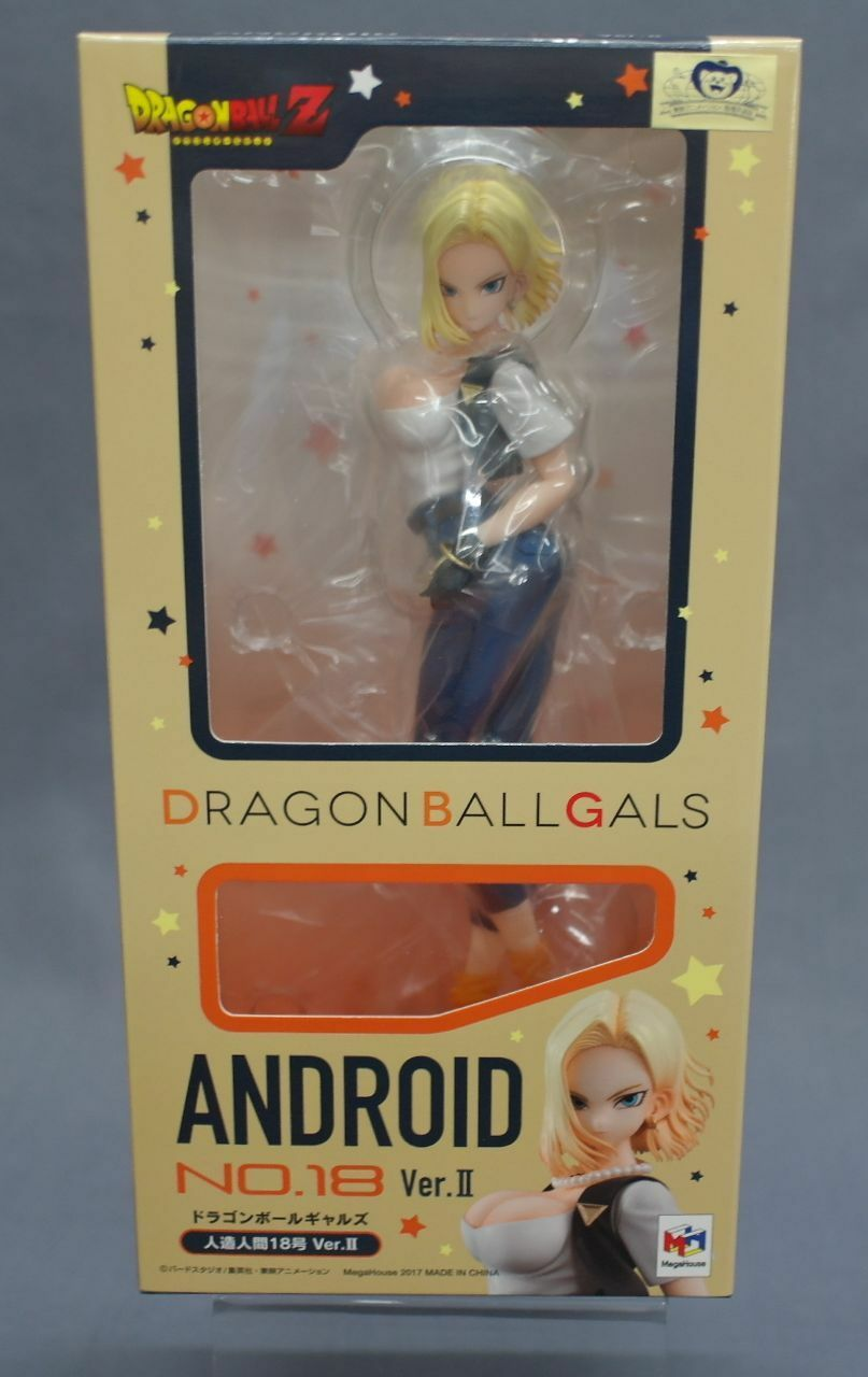 Dragon Ball Gals Android 18 Ver.II Megahouse Japan NEW