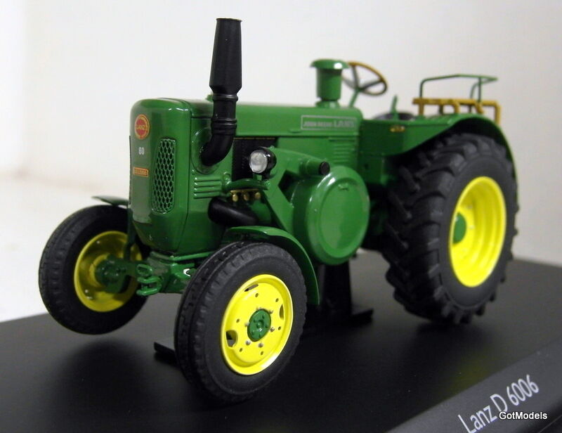 Schuco 1 43 Scale 03436 Lanz D 6006 Green diecast model tractor
