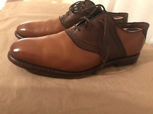 Allen-Edmonds-034-SHELTON-2-0-034-Oxfords-10-5-Walnut-Brown
