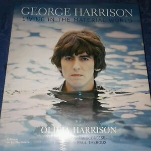 georges harrison living in the material world (beatles)