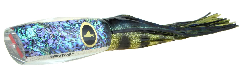 Santos Ascension Raptor Offshore Big Game Marlin Teaser Lure Trolling bluee