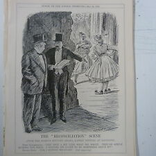 "7x10"" punch cartoon 1923 THE RECONCILIATION SCENE turkey / greece"