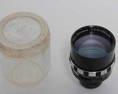 Enna München Tele Ennalyt 135mm 1:3.5 Lens Objektiv Für Enna Autmatik #200