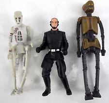 Star Wars 3.75'' Kenner Death Star Trooper / 8D8 & EV-9D9 Action Figures 1998