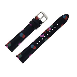 dfefc2306 Fossil S161024 16mm Women's Blue Leather Calfskin Watch Strap / Band ...