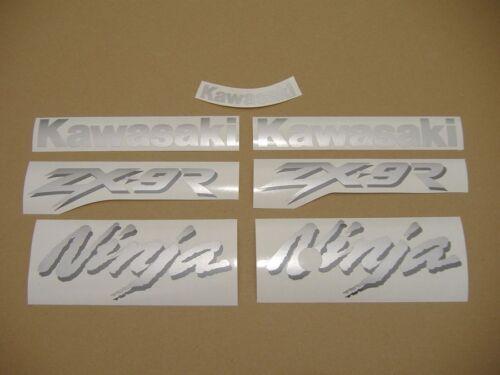 zx9r 1999 ninja decals sticker graphics adesivi complete set kit autocollants