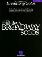 The First Book Of Broadway Solos Soprano Edition Vocal Collection Book 000740081