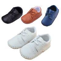 Baby Boy Wedding Christening Baptism Formal Pram First Shoes UK Size 1 2 3/3-18M