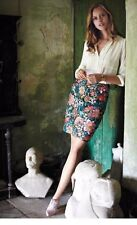 Yoana Baraschi  Fiore  Embroidered Pencil Skirt Size 8 Never Worn