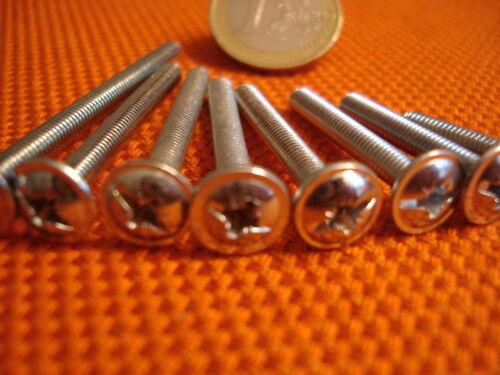 100 x Möbelgriffschrauben Griffschrauben für Möbel Gewinde Schrauben 4 x 9-50 mm