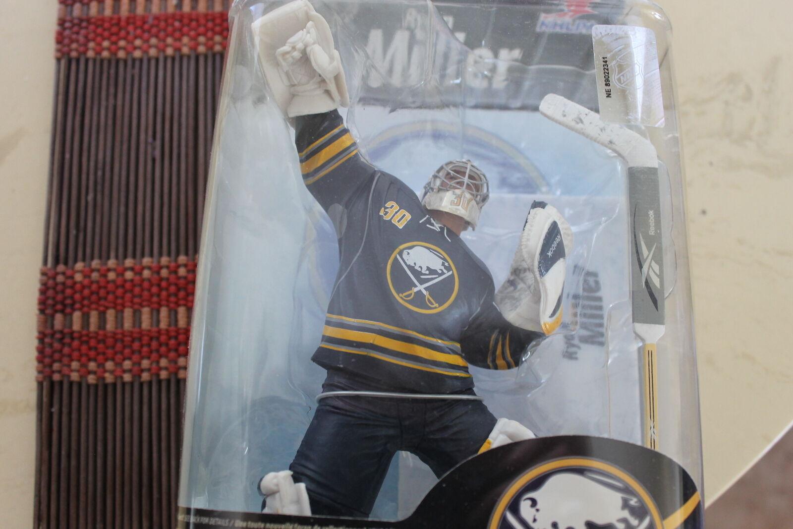 RYAN MILLER, NHL 26, MCFARLANE, BUFFALO SABRES