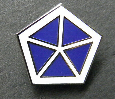 VICTORY CORPS V US ARMY MILITARY LAPEL PIN BADGE 1 INCH WWII