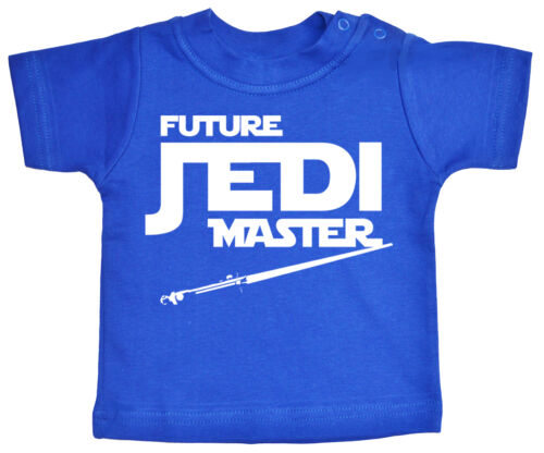 """Star Wars Baby T-Shirt /""""Future Jedi Master/"""" Funny Tee Clothes"""