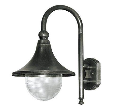 LANTERNA APPLIQUE PLAFONIERA LUME LAMPADA CIGNO A PARETE ILLUMINAZIONE GIARDINO