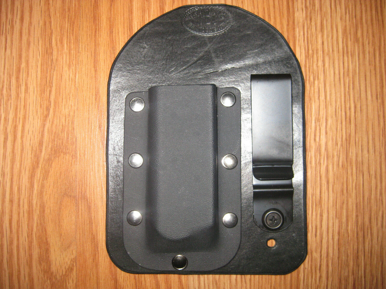 IWB Kydex Leather Hybrid Single Magazine Carrier