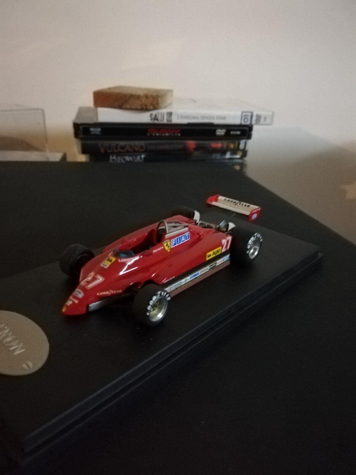 Ferrari 126 C2 Villeneuve San Marino G.P. 1982  27 1 43 Tron No BBR No Tameo