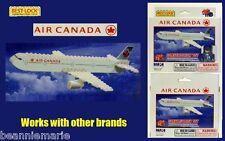 BEST LOCK AIR CANADA CONSTRUCTION TOY 55 PIECE BRICK TOY