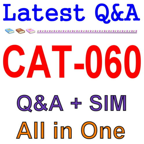 CA Spectrum Infrastructure Manager r9 Professional CAT-060 Exam Q/&A PDF+SIM