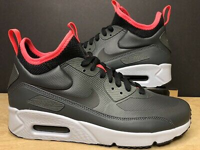 Nike Air Max 90 Ultra Mid Winter Sneakers AnthraciteBlackSolar Red
