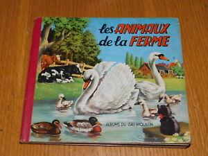 Details Sur Ancien Livre Les Animaux De La Ferme Album Du Gai Moulin Mulder Zoon Amsterdam