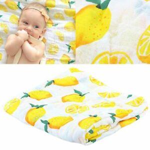 Multi Use Bath Towel Newborn Gauze Muslin Blankets Infant
