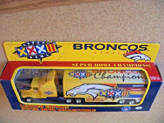 DENVER BRONCOS SUPER BOWL XXXII CHAMPIONS KENWORTH TRAILER.
