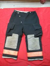 36 X 28 1990s Womens Globe Firefighter Fire Pants Bunker Turnout Gear Vtg