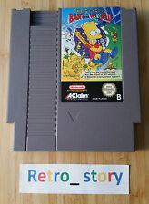 Nintendo NES The Simpsons Bart VS The World PAL