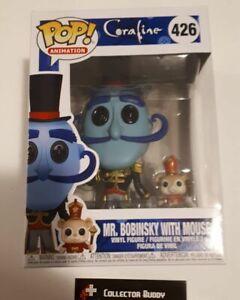 Funko Pop Animation 426 Coraline Mr Bobinsky W Mouse Pop Vinyl Figure Fu32825 Ebay
