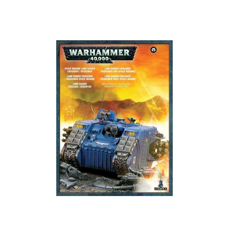 Warhammer 40K   LAND RAIDER rougeEEMER 48-30  meilleur service
