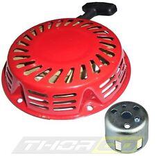 NUOVO inizio Pull Starter Rinculo Si Adatta Honda GX120 GX160 GX200 STEEL Dente D'Arresto Coppa Inc.
